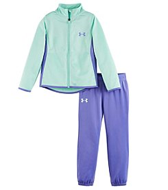 Under Armour® Baby Girls' 2-Piece Super Fan Track Set