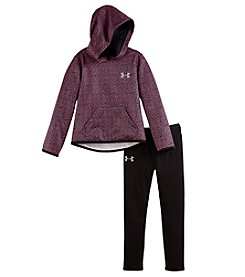 Under Armour® Baby Girls' 2-Piece Chain Grid Hoodie Set