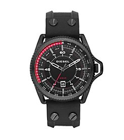 Diesel Black Rollcage Watch