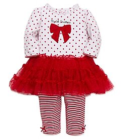 Little Me® Baby Girls' 2-Piece First Christmas Tutu Set