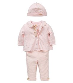 Little Me® Baby Girls' 4-Piece Shimmer Rose Jacket Set