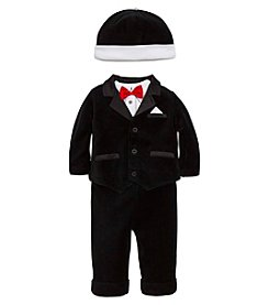Little Me® Baby Boys' 4-Piece Tuxedo Jacket Set