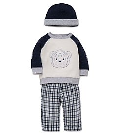 Little Me® Baby Boys 3-Piece Fuzzy Tiger Set
