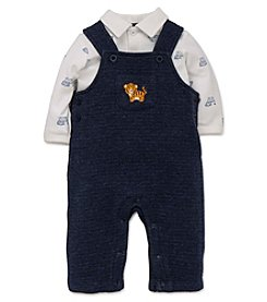 Little Me® Baby Boys' 2-Piece Fun Tiger Overalls Set