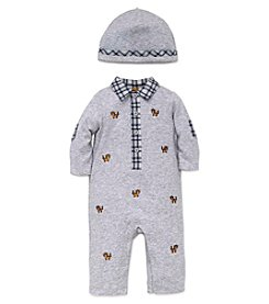 Little Me® Baby Boys' 2-Piece Tiny Tigers Coverall Set