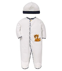 Little Me® Baby Boys' 2-Piece Cute Tiger Footie Set