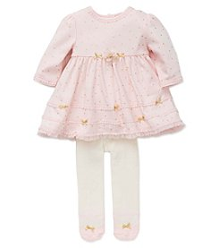 Little Me® Baby Girls' 2-Piece Sparkle Dot Dress Set
