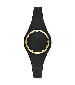 kate spade new york® Black Scallop Activity Tracker