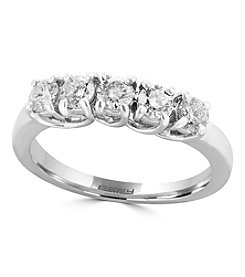 Effy® 0.75 Ct. T.W. Diamond Ring In 14K White Gold
