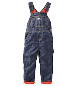 OshKosh B'Gosh® Baby Boys Flannel Lined Overalls