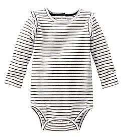 OshKosh B'Gosh® Baby Girls' Glitter Striped Bodysuit