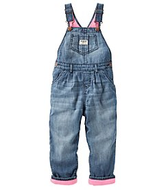 OshKosh B'Gosh® Baby Girls' Flannel Lined Overalls