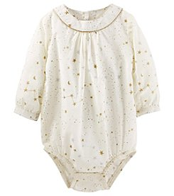 OshKosh B'Gosh® Baby Girls' Stars Bodysuit