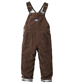 OshKosh B'Gosh® Baby Boys Flannel Lined Cord Overalls