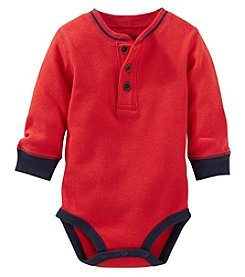 OshKosh B'Gosh® Baby Boys Thermal Henley Bodysuit