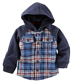 OshKosh B'Gosh® Baby Boys Plaid Hoodie