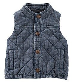 OshKosh B'Gosh® Baby Boys Denim Quilted Vest