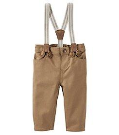 OshKosh B'Gosh® Baby Boys Suspender Pants