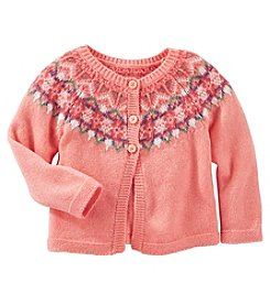 OshKosh B'Gosh® Baby Girls' Patterned Cardigan