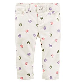 OshKosh B'Gosh® Baby Girls' Hedgehog Pants