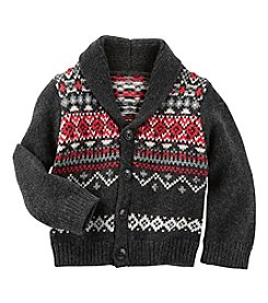 OshKosh B'Gosh® Baby Boys Shawl Collar Cardigan