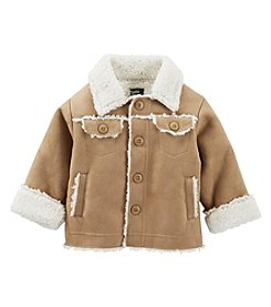 OshKosh B'Gosh® Baby Boys Faux Sherpa Jacket
