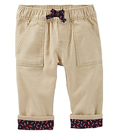 OshKosh B'Gosh® Baby Girls' Floral Lined Pants