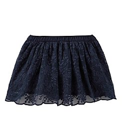 OshKosh B'Gosh® Baby Girls' Embroidered Mesh Skirt