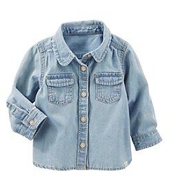 OshKosh B'Gosh® Baby Girls' Denim Shirt