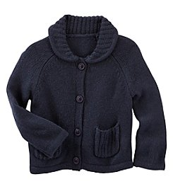 OshKosh B'Gosh® Baby Girls' Peter Pan Collared Cardigan