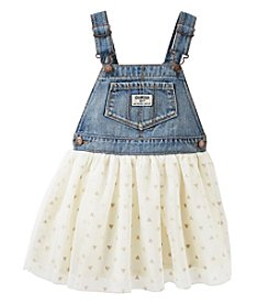 OshKosh B'Gosh® Baby Girls' Hearts Tulle Jumper
