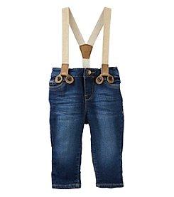 OshKosh B'Gosh® Baby Girls' Glitter Suspender Pants