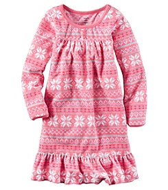 Carter's® Girls' 4-14 Fair Isle Nightgown