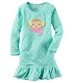 Carter's® Girls' 4-14 Chilly Monkey Nightgown