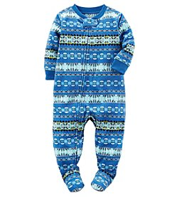 Carter's® Boys' One Piece Fair Isle Sleeper