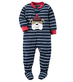 Carter's® Boys' One Piece Bulldog Sleeper