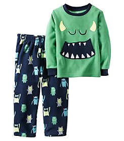 Carter's® Boys' 2-Piece Fleece Monsters Pajama Set