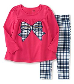 Kids Headquarters® Girls' 2T-6X 2-Piece Bow Tunic And Leggings Set