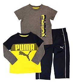 PUMA® Boys' 2T-4T 3-Piece Puma Cat Set