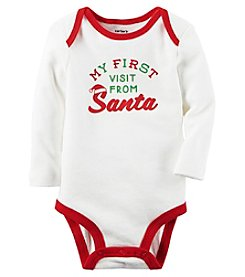 Carter's® Baby First Visit From Santa Bodysuit