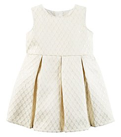 Carter's® Baby Girls' Metallic Dress Set
