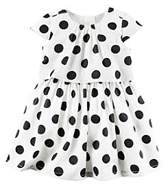 Carter's® Baby Girls' Polka Dot Dress Set