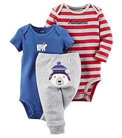 Carter's® Baby Boys 3-Piece Polar Bear Set