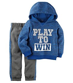 Carter's® Baby Boys 2-Piece Play To Win Hoodie Set