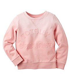 Carter's® Baby Girls' Totally Brilliant Ombre Sweatshirt