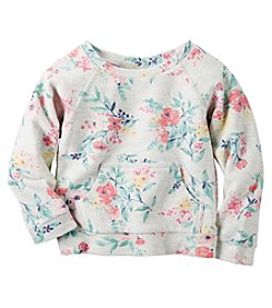 Carter's® Baby Girls' Floral Sweatshirt