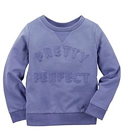 Carter's® Baby Girls' Pretty Perfect Sweatshirt