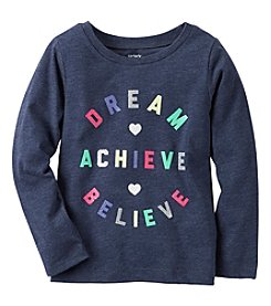 Carter's® Baby Girls' Long Sleeve Dream Tee