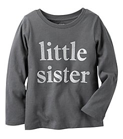 Carter's® Baby Girls' Long Sleeve Little Sister Tee
