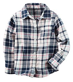 Carter's® Baby Girls' Plaid Shirt